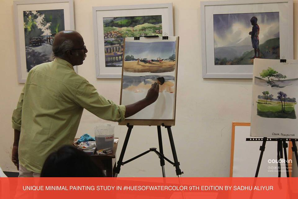 Hues Of Watercolor 9th edition Watercolor Painting Workshop