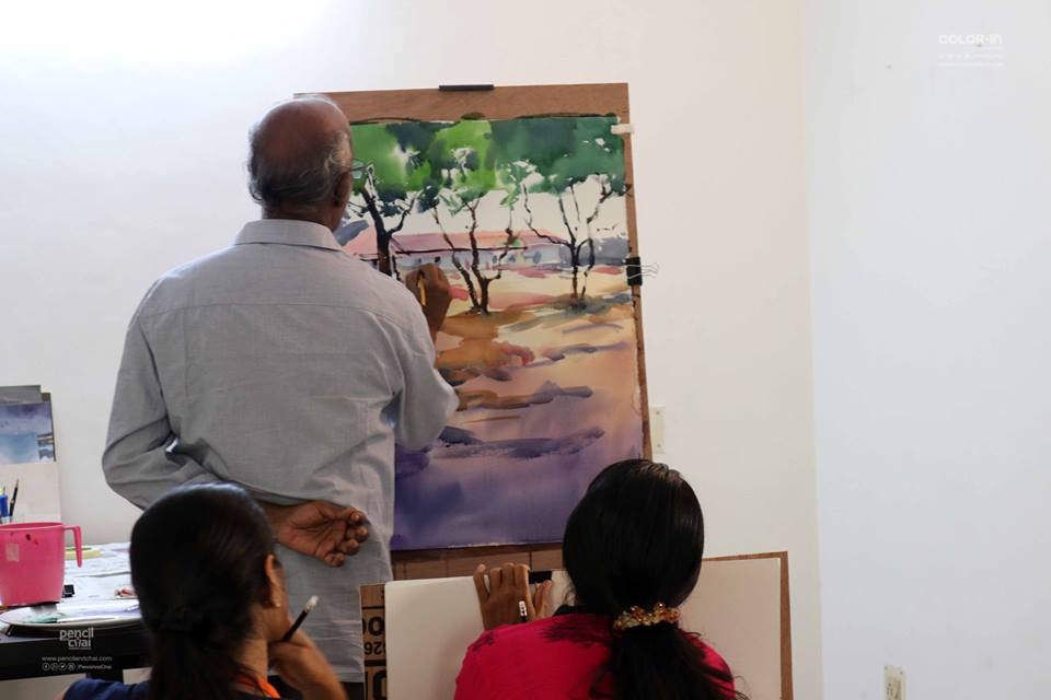 Watercolor Painting Workshop in Chennai