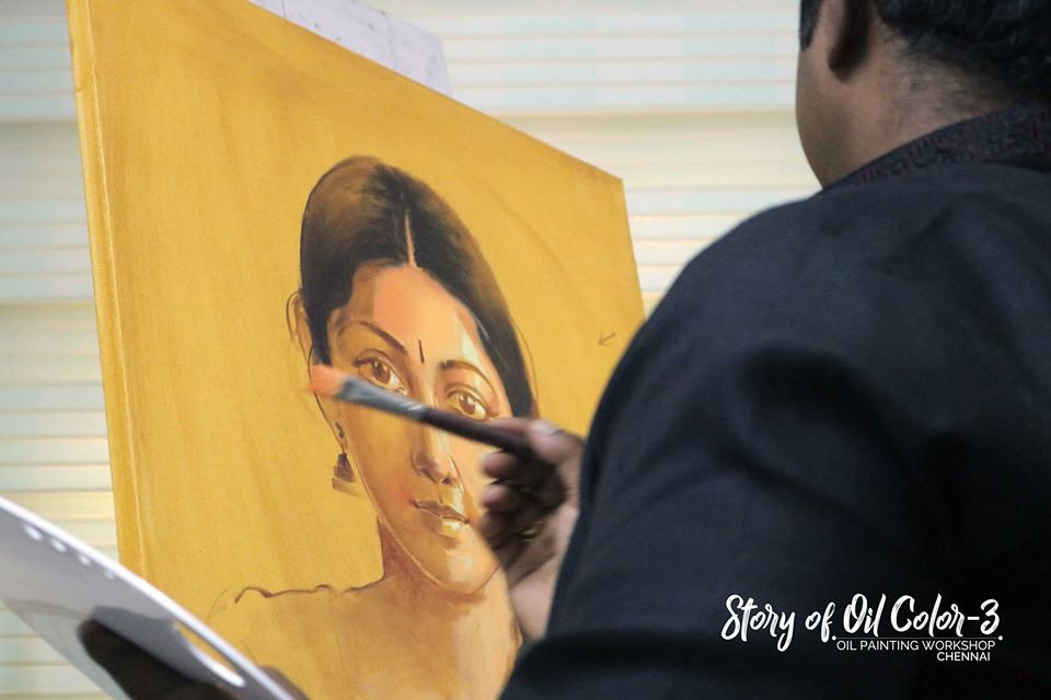 Story of Oil Color 3rd Edition | Chennai
