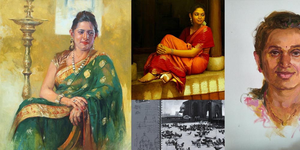 Soaring Oil Painters in India | Coloring India Foundation